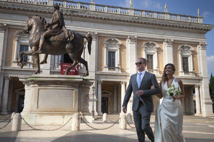 Civil Wedding in Rome