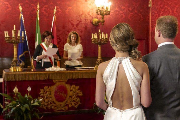 Civil Wedding at the Roman Town hall