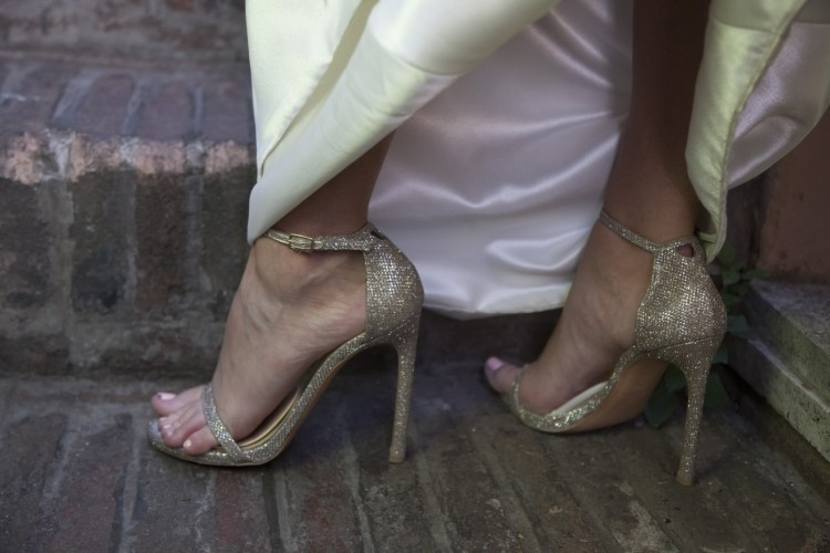 Stylish Wedding Shoes For Bride in Rome