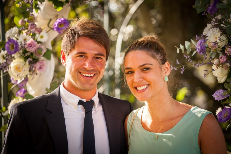 couples portrait at a wedding in Rome