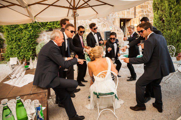 German Wedding in Rome