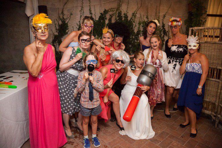 Wedding in Rome Photoboot