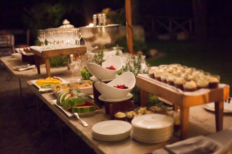 Wedding in Rome dessert table