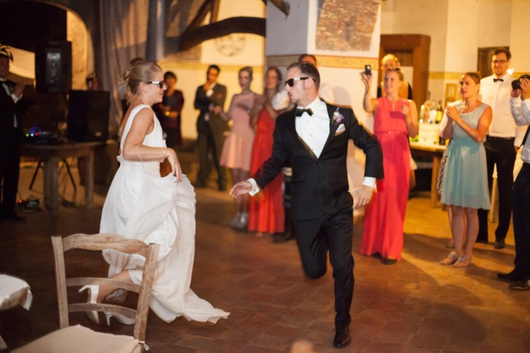Bride and groom first dance Wedding in Rome