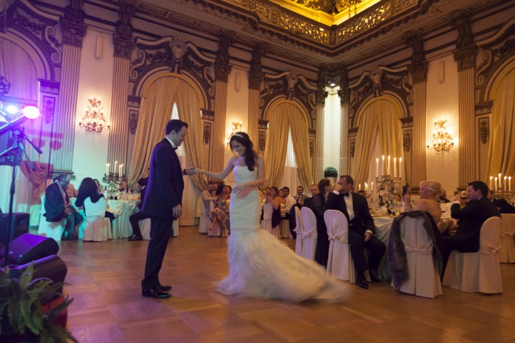 first dance Wedding in Rome