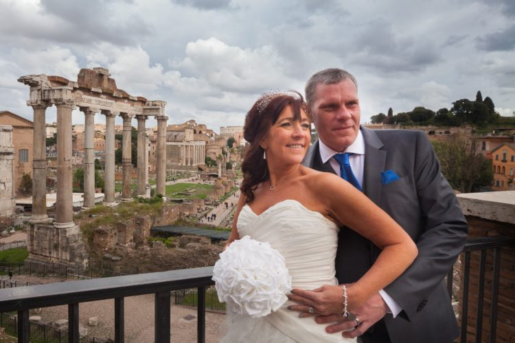 Wedding in Rome photo tour Foro Romano