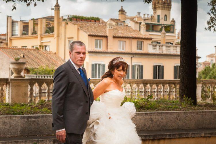 Wedding in Rome photo tour