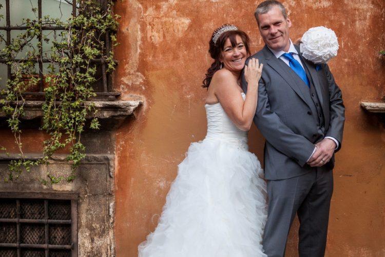 Wedding in Rome photo tour Piazza Margana