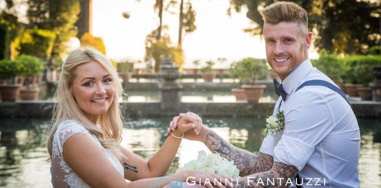 Civil Wedding Villa D'Este Tivoli