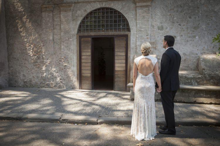 Civil Wedding at Vignola Mattei Rome